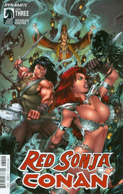 RED SONJA/ CONAN #3