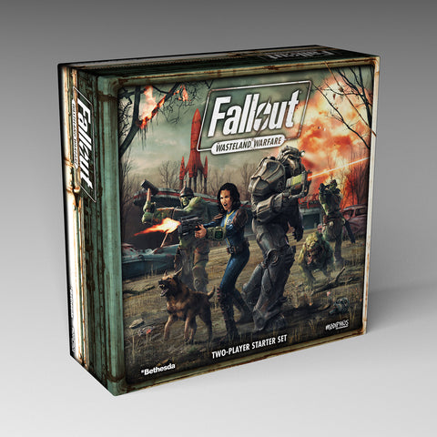 FALLOUT: WASTELAND WARFARE - TWO PLAYER STARTER SET *PRE-ORDER SPECIAL*