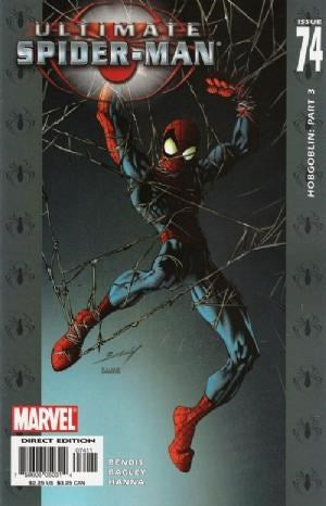 ULTIMATE SPIDER-MAN #74