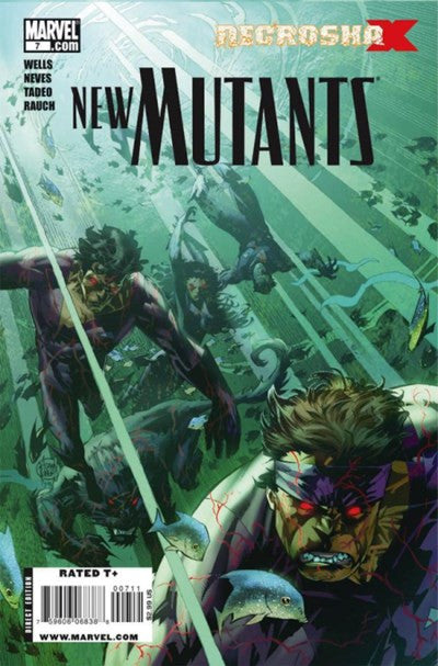 NEW MUTANTS #7 VOL.3