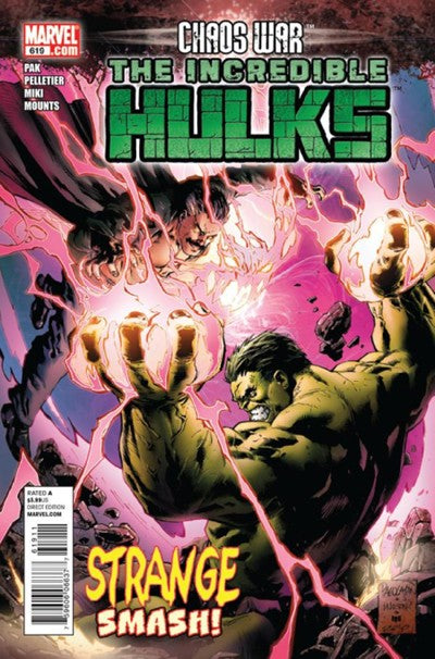 THE INCREDIBLE HULK #619