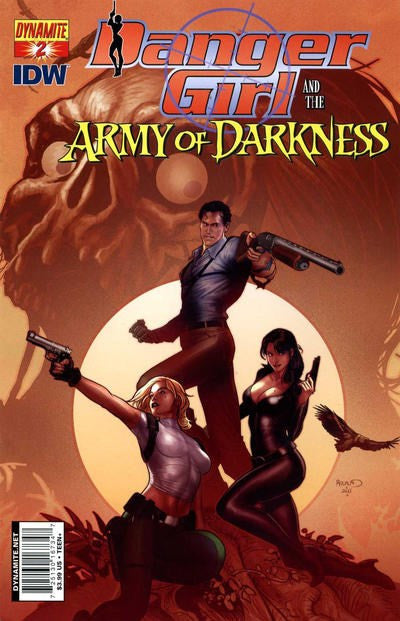 DANGER GIRL AND THE ARMY OF DARKNESS #2