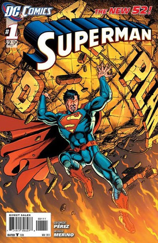 SUPERMAN #1 NEW 52