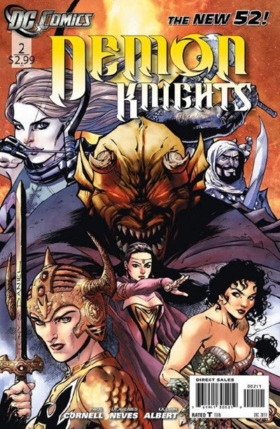 DEMON KNIGHTS #2