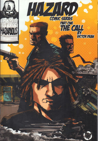 HAZARD Comics Series Pt 1: THE CALL 2nd Print