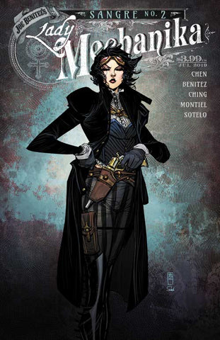 LADY MECHANIKA: SANGRE #2 VARIANT