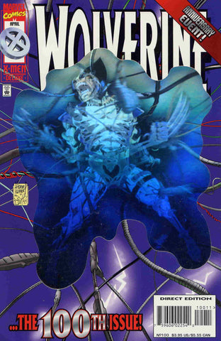 WOLVERINE #100 (1988) HOLOGRAM COVER