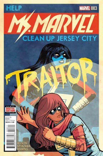 MS.MARVEL #3 VOLUME 4