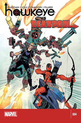 HAWKEYE VS. DEADPOOL (2014) #4