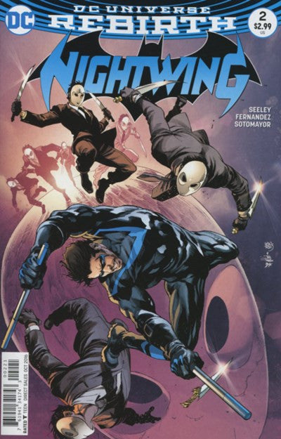 NIGHTWING #2 - REBIRTH VARIANT (2016)