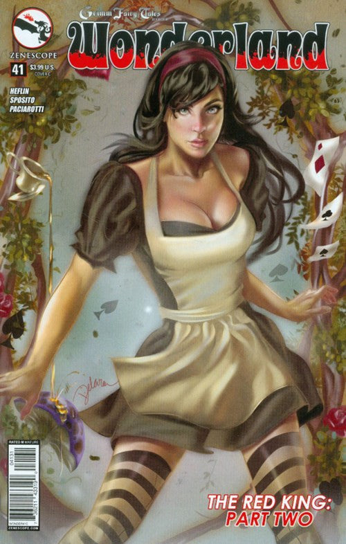 GRIMM FAIRY TALES PRESENTS WONDERLAND #41 VARIANT