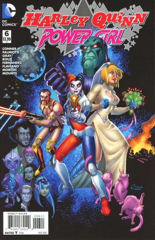 HARLEY QUINN AND POWER GIRL #6