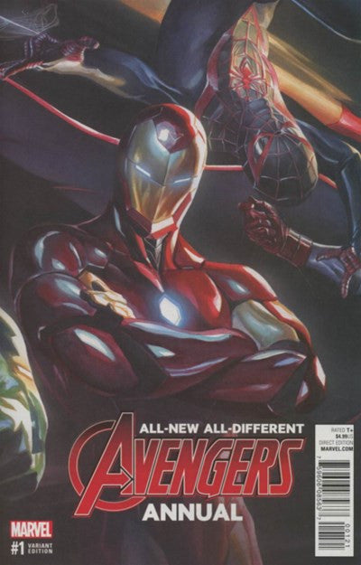 ALL-NEW, ALL-DIFFERENT AVENGERS ANNUAL #1 VARIANT C (2016)