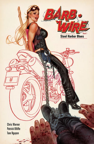 BARB-WIRE BOOK 1: STEEL HARBOUR BLUES