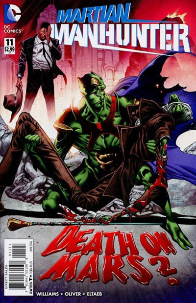 MARTIAN MAN-HUNTER #11 (2016)