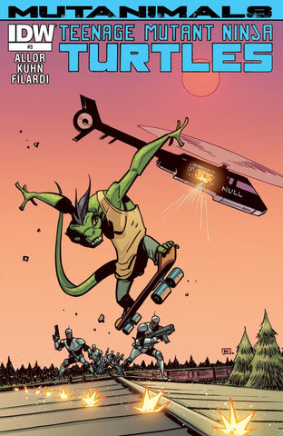 TEENAGE MUTANT NINJA TURTLES: MUTANIMALS #3