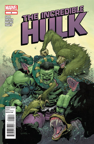 THE INCREDIBLE HULK #4 (2011)