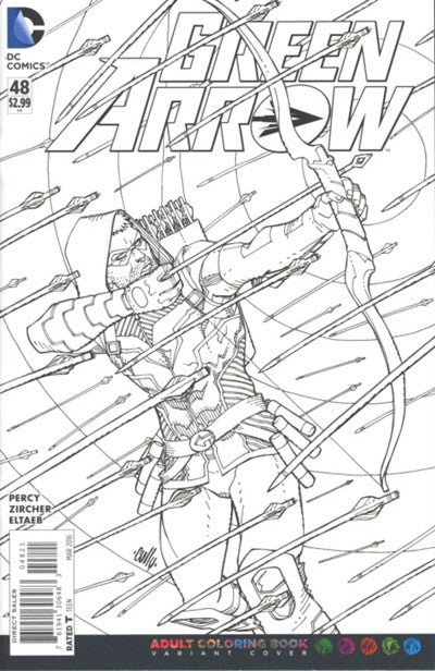 GREEN ARROW #48 COLOURING VARIANT