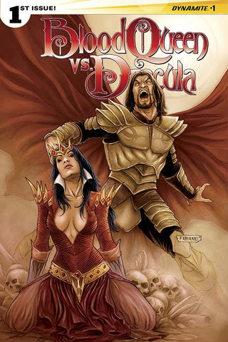BLOOD QUEEN VS. DRACULA #1 VARIANT B FABIANO