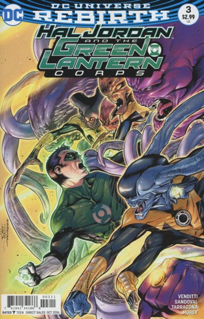 HAL JORDAN & THE GREEN LANTERN CORPS #3 (REBIRTH)