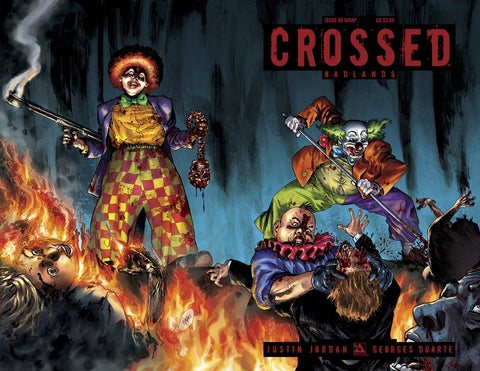 CROSSED BADLANDS #60 WRAP VARIANT
