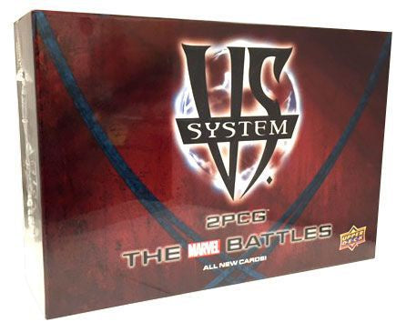 VS. SYSTEM 2PCG: THE MARVEL BATTLES