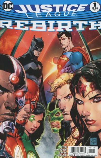 JUSTICE LEAGUE:REBIRTH ONE-SHOT (2016)