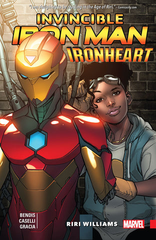 INVINCIBLE IRON MAN: IRON HEART TPB