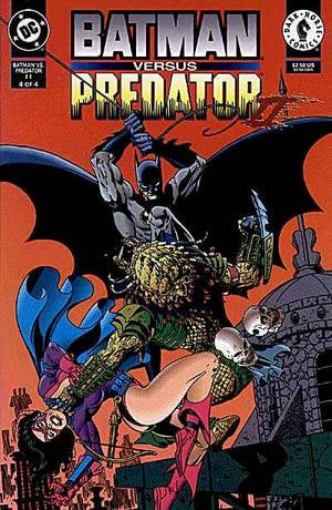 BATMAN VERSUS PREDATOR II: BLOODMATCH #4  OF 4