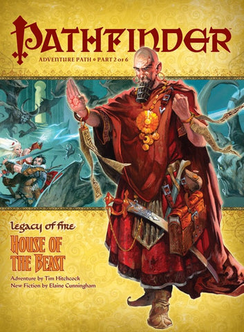 PATHFINDER ADVENTURE 20 - LEGACY OF FIRE: HOUSE OF THE BEAST