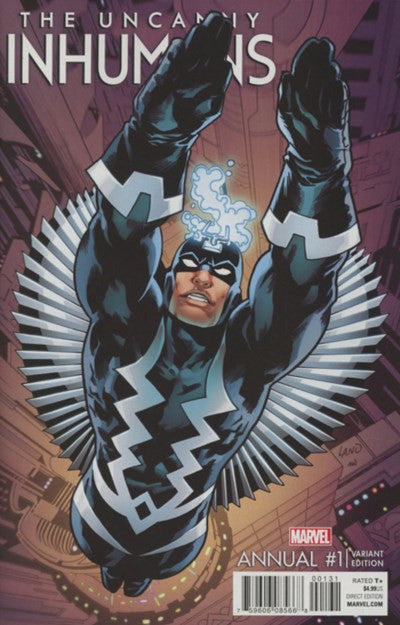 THE UNCANNY INHUMANS ANNUAL #1 VARIANT B (2016)