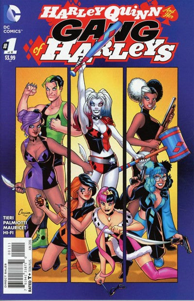 HARLEY AND HER GANG OF HARLEYS #1 (2016)