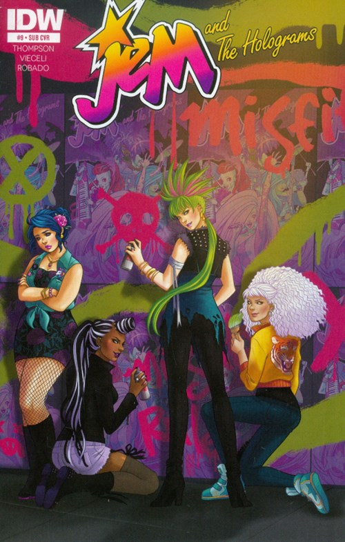 JEM AND THE HOLOGRAMS #9 SUB VARIANT