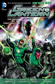 GREEN LANTERN: THE WRATH OF THE FIRST LANTERN HC