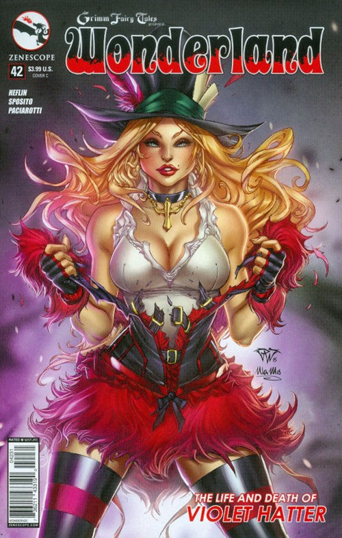 GRIMM FAIRY TALES PRESENTS WONDERLAND #42 VARIANT