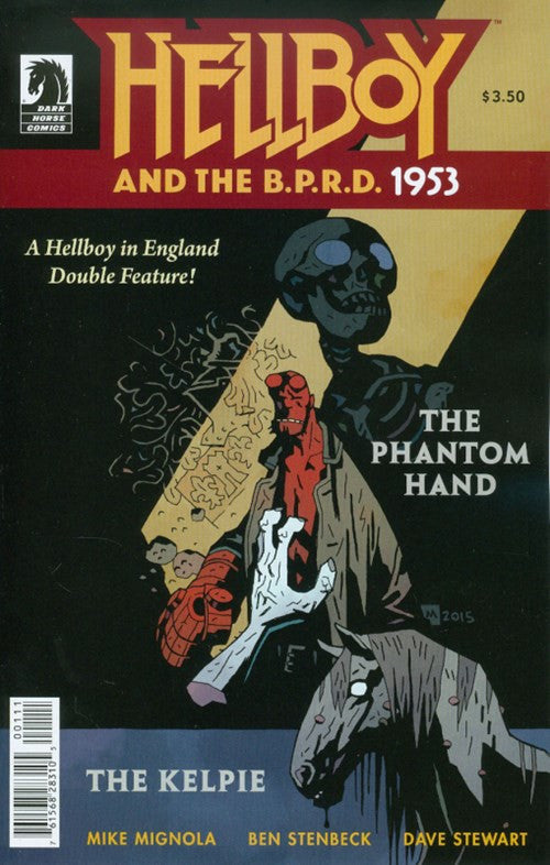 HELLBOY AND THE B.P.R.D. 1953 - THE PHANTOM HAND AND THE KELPIE #1