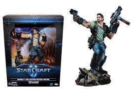 STARCRAFT II PREMIUM SERIES 1 - JIM RAYNOR FIGURE
