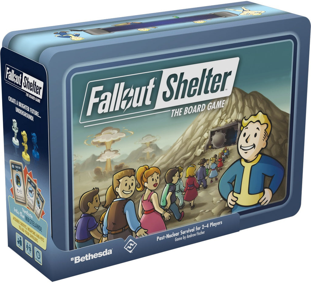 FALLOUT SHELTER THE BOARD GAME