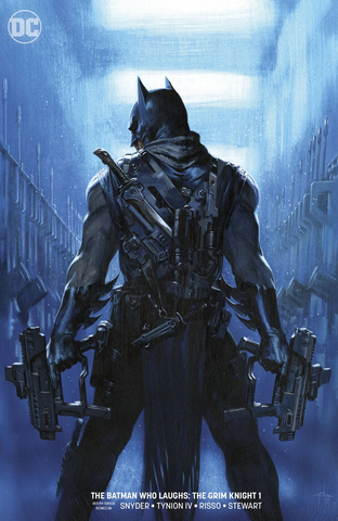 THE BATMAN WHO LAUGHS: THE GRIM KNIGHT (2019) #1 DEL OTTO VARIANT