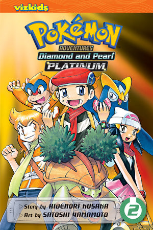 POKEMON ADVENTURES: DIAMOND AND PEARL / PLATINUM VOL. 2