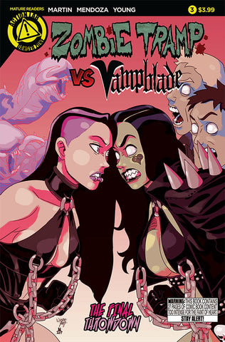 ZOMBIE TRAMP VS VAMPBLADE (2015) #3