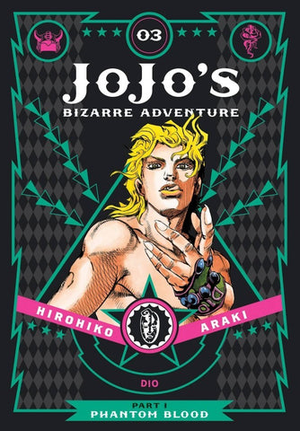 JOJO'S BIZARRE ADVENTURE: PART 1 - PHANTOM BLOOD 03 DELUXE HC