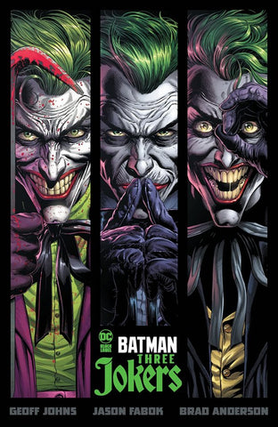 BATMAN: THREE JOKERS (2020) HC