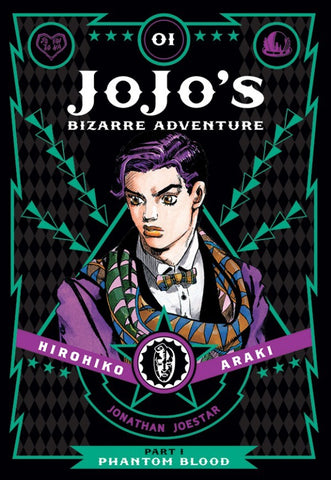 JOJO'S BIZARRE ADVENTURE: PART 1 - PHANTOM BLOOD 01 DELUXE HC