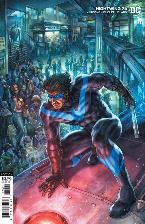 NIGHTWING (2016) #76 VARIANT