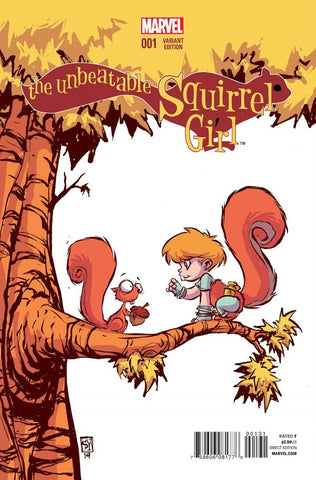 THE UNBEATABLE SQUIRREL GIRL (2015) #1 YOUNG VARIANT