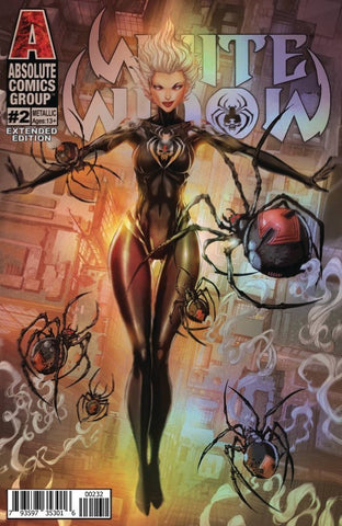 WHITE WIDOW (2019) #2 EXTENDED EDITION METALLIC VARIANT