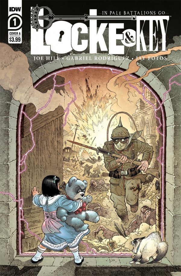 LOCKE & KEY: IN PALE BATTALIONS GO (2020) #1