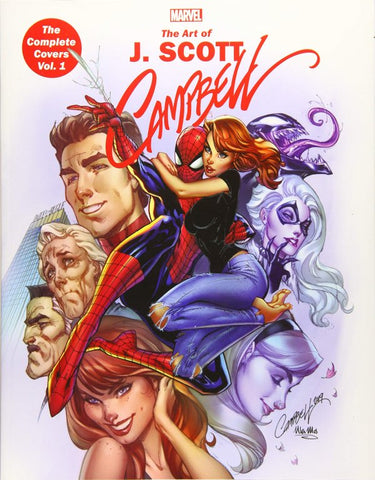MARVEL MONOGRAPH: THE ART OF J. SCOTT CAMPBELL