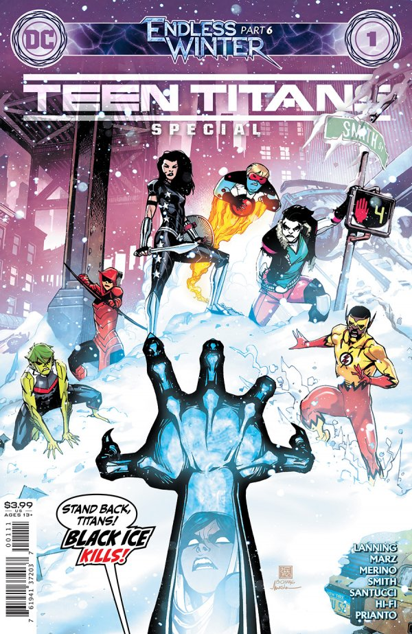 TEEN TITANS: ENDLESS WINTER SPECIAL (2020) #1